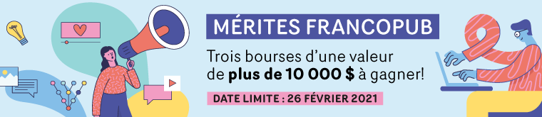 Mérites Francopub – Appel de candidatures